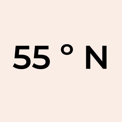 55 Grados Norte
